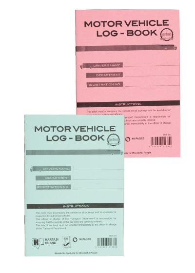 Motor Vehicle Log Book Kartasi Industries Ltd